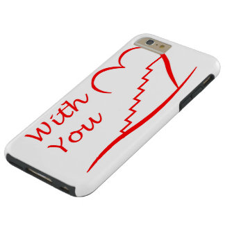 Love You, with you together the stairs up Tough iPhone 6 Plus Case