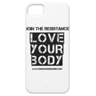 Love Your Body iPhone case