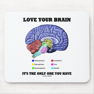 Love Your Brain It s The Only One You Have Brain Mouse Pads