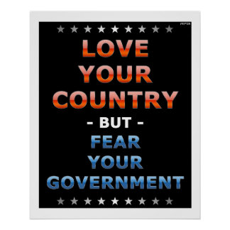 Love Your Country Print