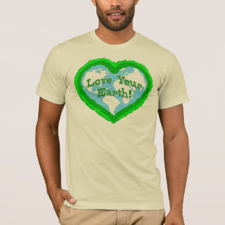 Love Your Earth Adult T-Shirt