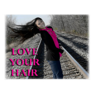 Love Your Hair Post Card