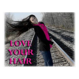 Love Your Hair Postcard