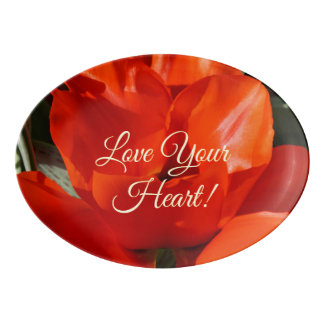 Love Your Heart! gifts Serving Platters Health