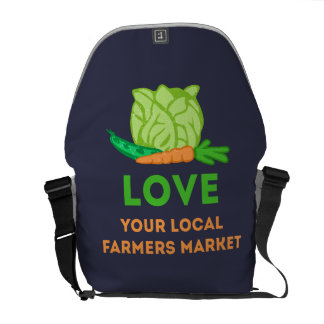 Love Your Local Farmers Market Commuter Bag