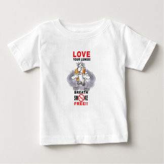 Love Your Lungs - Stop Smoking Baby T-Shirt