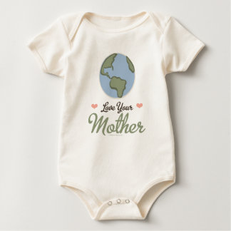 Love Your Mother Earth Baby Organic Baby Bodysuit