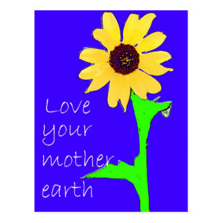 love your mother earth postcards