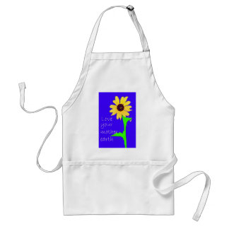 love your mother earth standard apron