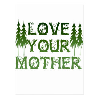 Love Your Mother Postcard