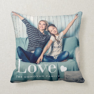 Love | Your Personal Photo and a Heart Cushion