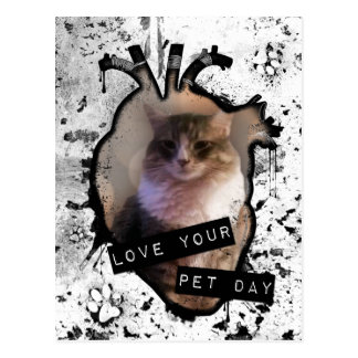 love your pet day postcard