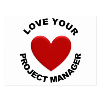 Love Your Project Manager Postcards