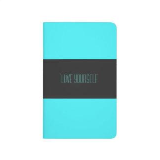 Love Yourself Always Stripe Pocket Journal