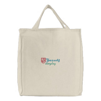 Love Yourself Everyday Embroidered Bag