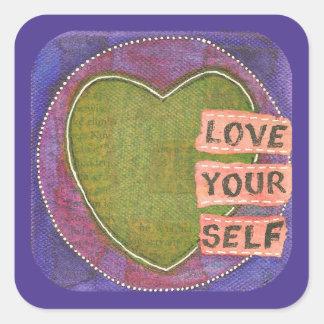 'Love Yourself' Sticker Sheet