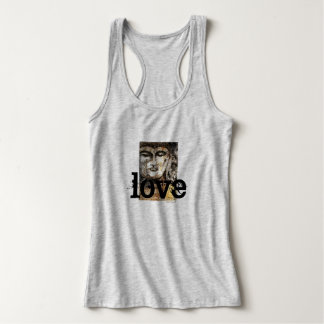 Love Zen Buddha Art Women's Tank Top