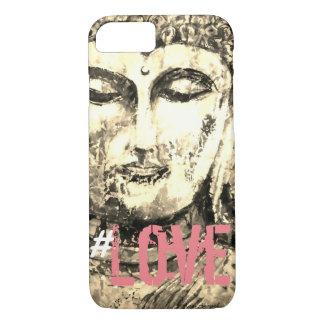 Love Zen Buddha Watercolor Art Phone Case