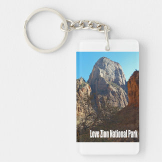 Love Zion National Park Key Ring