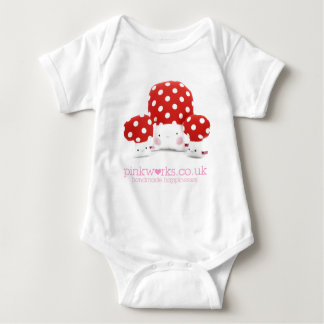 Loveable Mushrooms Baby Bodysuit