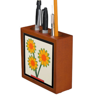 Loveable Sunflowers Desk Organiser
