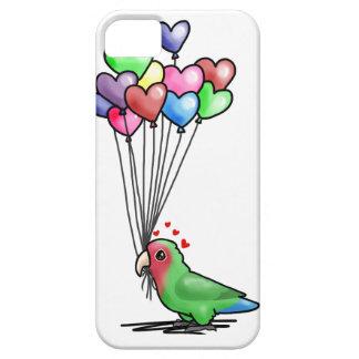 Lovebird case in WHITE