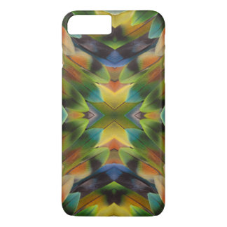 Lovebird feather kaleidoscope iPhone 8 plus/7 plus case