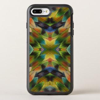 Lovebird feather kaleidoscope OtterBox symmetry iPhone 8 plus/7 plus case