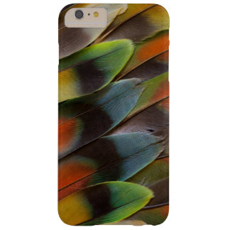 Lovebird Feather Pattern Barely There iPhone 6 Plus Case