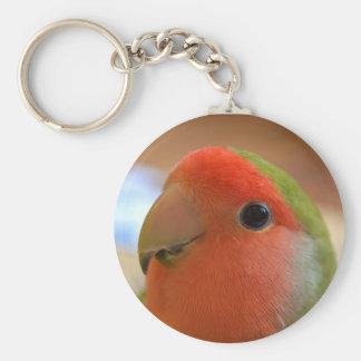 Lovebird keychain