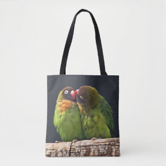 Lovebird Kiss All Over Print Bag