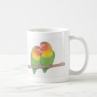 lovebird mug