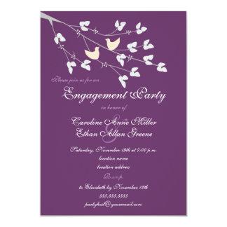 Lovebirds Engagement Party Invitation