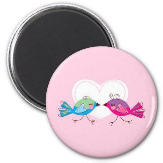 Lovebirds Magnet