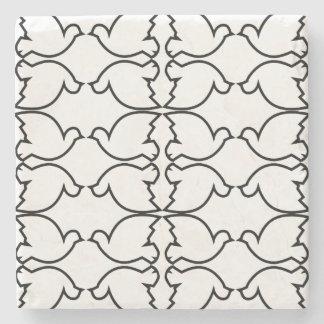 Lovebirds / Marble Stone Coaster