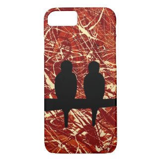 LOVEBIRDS: REMAINS OF THE DAY v.2 (bird design) ~ iPhone 7 Case