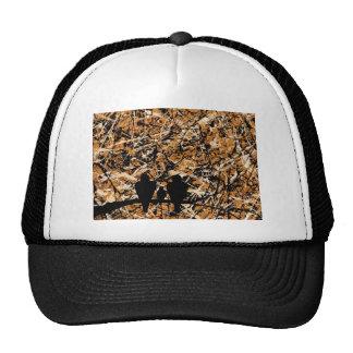 LOVEBIRDS - THREE S COMPANY bird design Trucker Hat