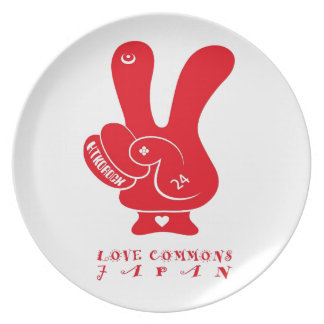 LOVECOMMONS JAPAN plate