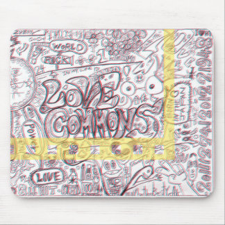 LOVECOMMONS mouse pad