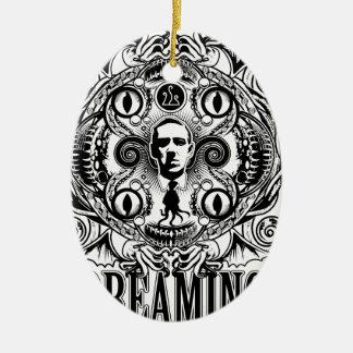 Lovecraftian Dreams Ceramic Ornament