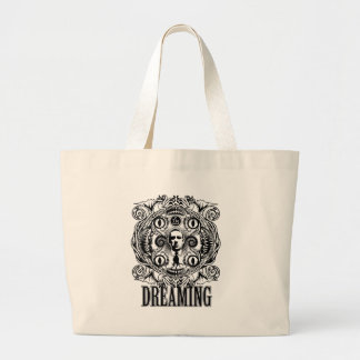 Lovecraftian Dreams Large Tote Bag