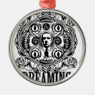 Lovecraftian Dreams Metal Ornament