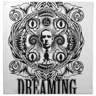 Lovecraftian Dreams Napkin