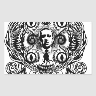 Lovecraftian Dreams Rectangular Sticker