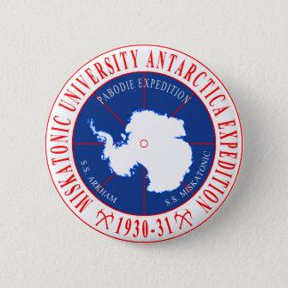 Lovecraft's Miskatonic Antarctica Expedition 6 Cm Round Badge