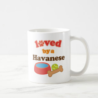 Loved By A Havanese (Dog Breed) Coffee Mug