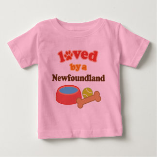 Loved By A Newfoundland (Dog Breed) Baby T-Shirt
