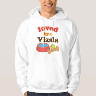 Loved By A Vizsla (Dog Breed) Hoodie