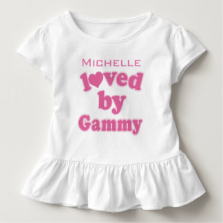 Loved By Gammy Personalized Grandchild T-shirt