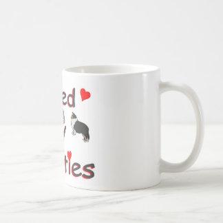 Loved by shelties coffee mug